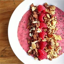 Pink Berry Bowl